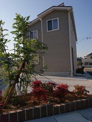 プレシャス熊取モデルハウス外構工事完了‼