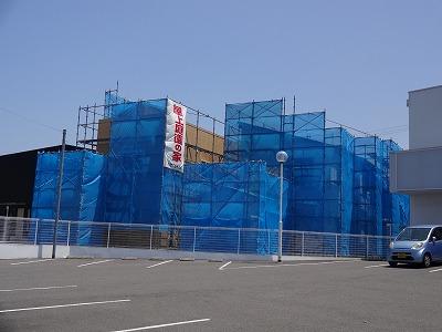 岸和田市中井町交差点の垂れ幕01