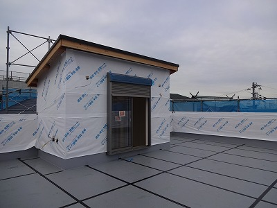 阪南市の屋上の家02