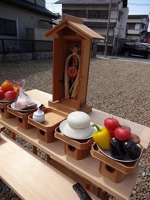 上野町西の地鎮祭04