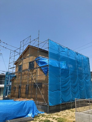 熊取の工事現場001