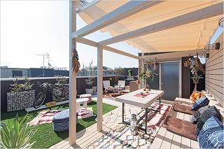 ■堺市でも『屋上リビング』の家!